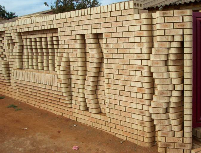 ... Schools Or Swimming Pools Bricks With Rounded Edges Provide Safety  Benefits Sill And Coping Protect Wall Brick Beneath With Brick Wall Fence  Designs.