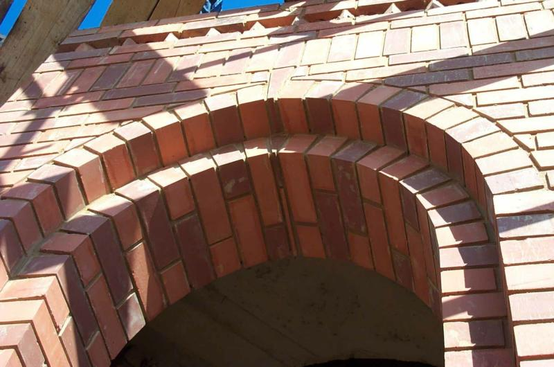 Curved Walls Arches Amp Domes Clay Brick Association Of