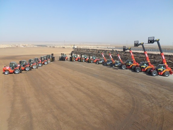 Manitou Supplies 17 Machines To West End Clay Bricks