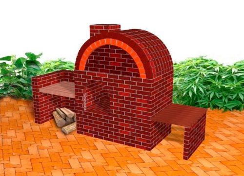 Build your own clay brick Pizza Oven | Clay Brick ...