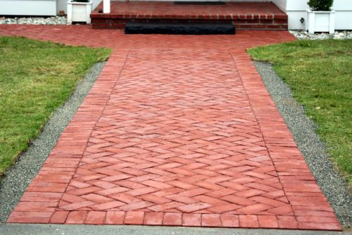 clay brick paver size - the best brick